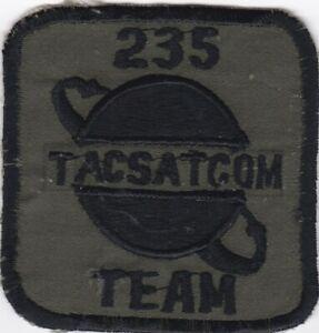 NASA ORIGINAL 235TH TACSATCOM TEAM  PATCH