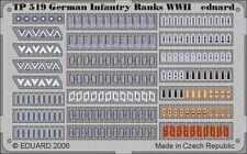 Eduard 1/35 German Infantry Ranks WWII # TP519