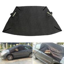 Car SUV Windscreen Windshield Cover Sun Shield Snow Frost Freeze Protector Black