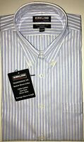 Kirkland Signature Men's, Non-Iron, Traditional Fit - Long Sleeve Dress Shirt