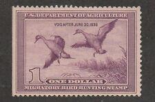 Kappysstamps Ks2836 Usa Bob Federal Ducks Sc# Rw5 Mh Retail $190