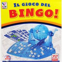 Tombola Bingo Gioco Da Tavola Manovella 72 Cartelle Numeri Famiglia Giocare 515