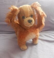Vintage - Schuco - Walt Disney Lady & The Tramp - Dog Soft / Plush Toy - Mohair