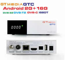 GTMedia GTC Android 6.0 TV BOX DVB-S2+T2+C+ISDBT Amlogic S905D 2G/16G Wifi BT4.0