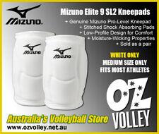Genuine Mizuno Elite 9 SL2 Kneepads (Medium/White) - Aus Dispatch - OzVolley