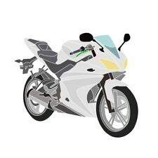 Yamaha YZF-R125 2008-2013 Unpainted Fairing Bodywork Cowl Plastic Panels Set/Kit