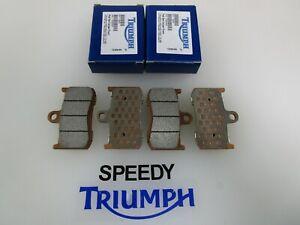 TRIUMPH DAYTONA 675 STREET TRIPLE R 675 FRONT BRAKE PAD SET T2020333 T2020475