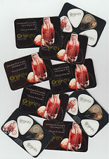 ORIANTHI Believe lot of 9 promo-only plectrum sets MINT / UNUSED