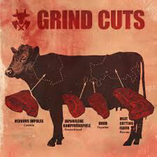 GRIND CUTS - 4 Way Split:Nervous Impulse,Meat Cutting Floor,Brud... -CD - 165182