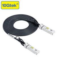 New Netgear AXC763, SFP+ Direct Attach Copper Twinax Cable, 3Meter Passive in US