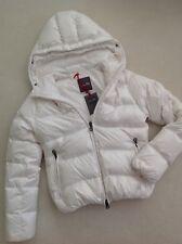 DUVETICA Daunen-Jacke Steppjacke schnee-weiß it.42 dt.36 S jacket white NEW!!