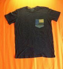 Pull and Bear Poche Peinture éclaboussures T Shirt Taille S Classique Streetwear