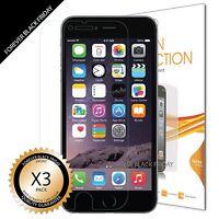 """iPhone 6S Plus 5.5"""" Screen Protector 6x Anti-Scratch HD Clear Cover Guard Shield"""