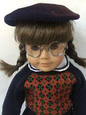 "American Girl Full Size Molly McIntire Doll 18"" & Accessories 1950s Era"