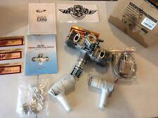"""RCGF 70CC TWIN cylinder r/c aircraft Gas Engine """"new version w/slanted plugs"""""""