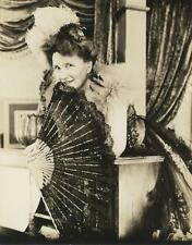 """MARJORIE MAIN-ORIGINAL PHOTO-DOUBLE WEIGHT PORTRAIT-FAN-""""MA KETTLE"""""""