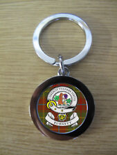 BURNETT CLAN KEY RING (METAL) IMAGE DISTORTED TO PREVENT INTERNET THEFT