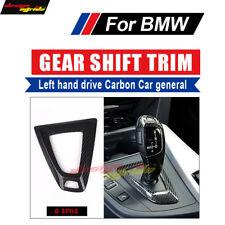 For BMW M3 M4 Carbon car general Gear Shift Trim Surround Cover Left hand drive