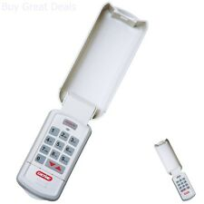Garage Door Opener Remote Wireless Keypad Lighted Wireless Keyless Entry Pad