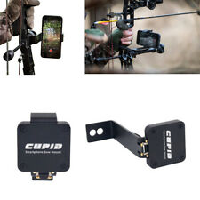 Archery Hunting Smartphone Cell Phone Holder Bow Mount for Compound Recurve Tool