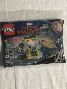 Lego 30453 Captain Marvel & Nick Fury New in Sealed Polybag