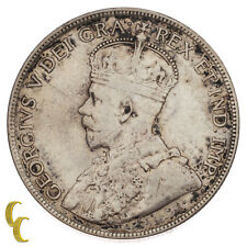 1916 Canada 50 Cents Silver Coin in VF, KM# 25