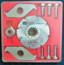Sears Craftsman Dado Set No. 3268 for Circular Saw - Complete Set in Case