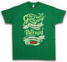 VINTAGE GARDENING T-SHIRT Vegan Veganismus Vegetarier Gärtner Gardener Fun Shirt