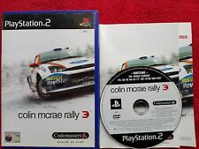 Colin McRae Rally 3 ORIGINAL BLACK LABEL Sony Playstation 2 ps2 PAL