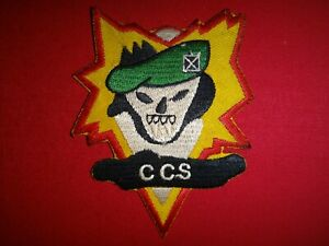 Vietnam War Patch US 5th Special Forces Group MACV-SOG CCS Command Control South