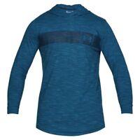 Under Armour Sportstyle Core Hoodie Herren Kapuzen Pullover blue 1306490-487