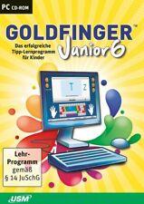 Goldfinger Junior 6 CD-ROMDas unterhaltsame Tipp-Lernprogramm für Kinder