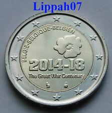 België speciale 2 euro 2014 Eerste Wereldoorlog / World War 1 UNC