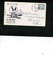CANADA  1964  FDC JET PLANE - OTTAWA  see scan  cat #430 $4.00  BOX 536