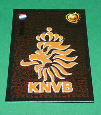 N°317 PAYS-BAS NEDERLAND KNVB BADGE PANINI FOOTBALL UEFA EURO 2004 PORTUGAL