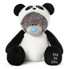 "Me To You 24"" Tatty Teddy collectionneurs peluche OURS habillé comme Panda"