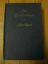 The Fountainhead- Ayn Rand, 1st Ed./5th Prnt.Dark Blue Cover, Bobbs-Merrill 1943
