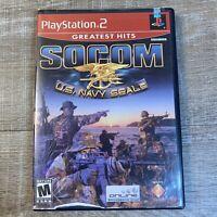 SOCOM: U.S. Navy SEALs Greatest Hits (Sony PlayStation 2, 2003)