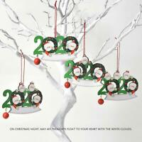 2020-Merry Christmas Xmas Tree Hanging Ornaments Family Personalized Decor