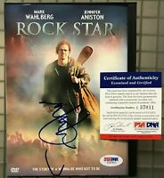 Mark Wahlberg Signed ROCK STAR DVD Movie Case Autographed w/ DVD PSA/DNA COA