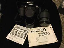 NIKON F50 W/SIGMA 28-80MM D 3.5-5.6 MACRO AF ASPHERICAL & VIVITAR 70-210MM AF 4.