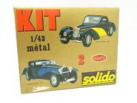 Solido Kit à Monter 1/43 - Bugatti Atalante 1939 et Royale 1930