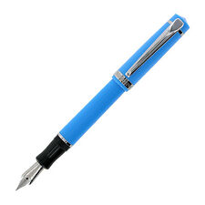 Nemosine Singularity Aqua Blue Fountain Pen - German Extra Fine Nib