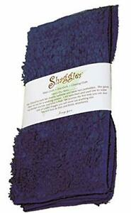 """Janey Lynn's Designs Out Of The Blue Shaggies 10"""" x 10"""" Cotton Chenille Washc..."""