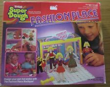 RARE VINTAGE 1988 TYCO SUPER DOUGH FASHION PLACE MODELING PLAYSET - PLAY DOH