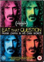 Eat That Question - Frank Zappa [DVD] [2016][Region 2]