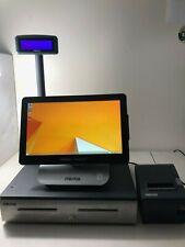 Micros Oracle 6 Pos Workstation terminal Epso Printer Cash Drawer Register w Key