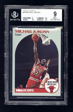 1990-91 Hoops #65 MICHAEL JORDAN BGS 9 Mint w 2 9.5's Chicago Bulls