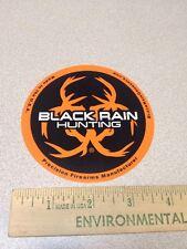 BLACK RAIN HUNTING LOGO DECAL STICKER FIREARM GUN AR 15 MANUFACTURER USA L@@K
