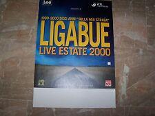 LIGABUE-RARA LOCANDINA TOUR         34 x 48